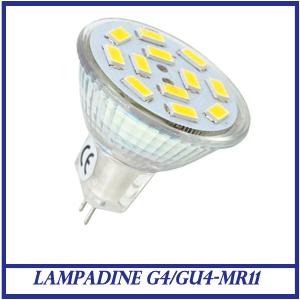 LAMPADINE G4/GU4-MR11