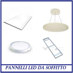 Pannelli LED da soffitto