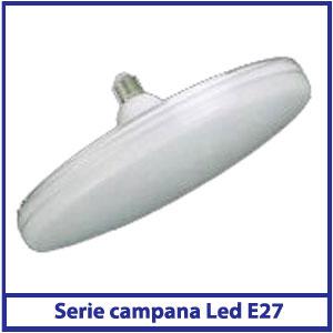 Campana LED vetro E27