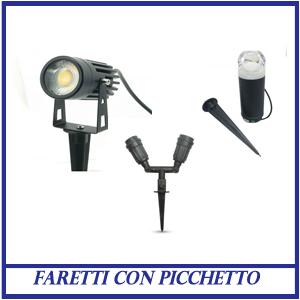 Faretti con Picchetto