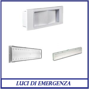 Luci di emergenza LED