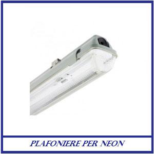 Plafoniera Neon per T8