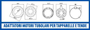 adattatori per motori tubolari