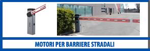 Motori per barriere stradali