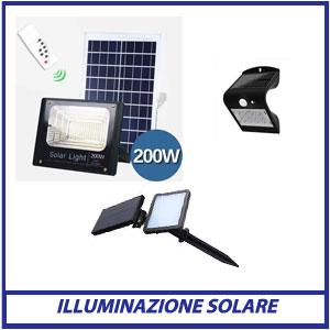 Illuminazione Solare