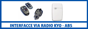 Interfacce via radio kyo abs