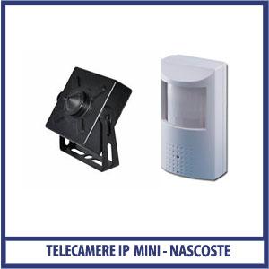 telecamera IP NASCOSTE
