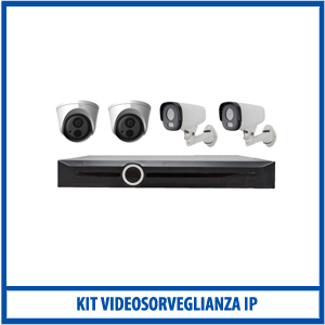 Kit Videosorveglianza IP