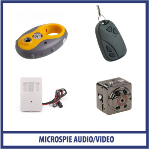 Microspie Audio - Video