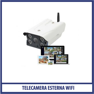 Telecamera Esterna Wi-Fi