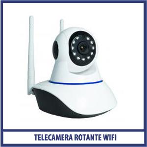 Telecamera Rotante Wi-Fi