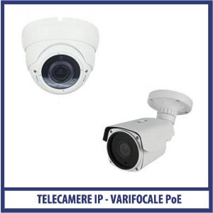 Telecamera IP POE VARIFOCALE